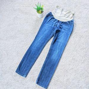 Indigo Blue Skinny Full Panel Jeans